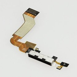 Apple Dock Connector Charging Port Flex Ribbon Cable for iPhone 4S - Black