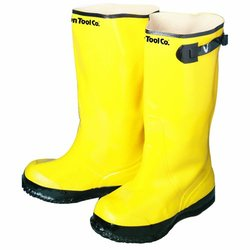 Bon 84-858 Heavy Duty Yellow Rubber Contractor's Overshoe Boot, Size 8