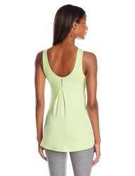 2XU Women's Movement V Tank Top - Honeydew Marle - Size: Large
