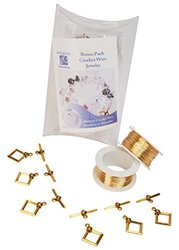 Art Night Out Bonus Pack for Crochet Wire - Gold - 2 Spools - 28 Gauge