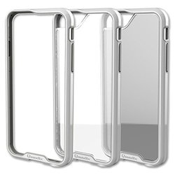 Qmadix R Series Case for iPhone 6 - Retail Packaging - White/Clear/Gray