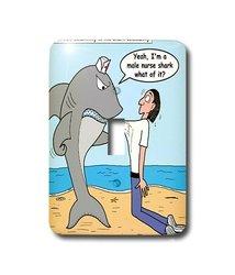 lsp_2774_1 Male Nurse Shark Single Toggle Switch