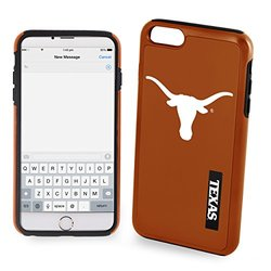NCAA Texas IPhone 6 Plus Dual Hybrid Case (2 Piece), Orange