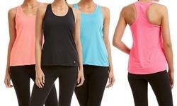 Bally Fitness Women's 2PK Tanks - Carbon Blue - Size: XL