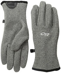 Outdoor Research Men's Longhouse Gloves - Pewter - Size: Large