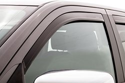 Aeroskin Hood Shield and Low Profile Ventvisor Combo - Matte Black