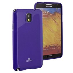 GOOSPERY Jelly Case Series for Samsung Galaxy Note 3 - Purple