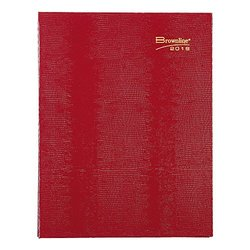 """Brownline 2016 Coilpro Monthly Planner, 14 Months, Red, 11"""" x 8.5"""" (CB1262C.RED-16)"""