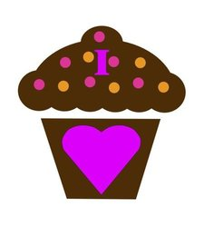 lsp_60642_2 I Love Chocolate Cupcakes Double Toggle Switch