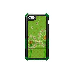 Tri-Shield Hard Shell Case for iPhone 5C Lite - Black/Green (CNE13339)