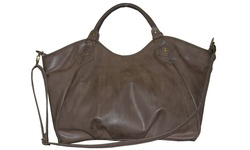 Buxton Women's Kimberly 15.6? Laptop Tote Bag - Brown