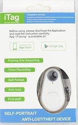 iTag keyfinder Self Portrait Bluetooth/Tracker/Camera Remote/Voice Green