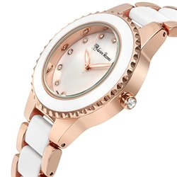 Lucien Pezzoni Sacra Ladies Watch: 62627429/rose-white Band