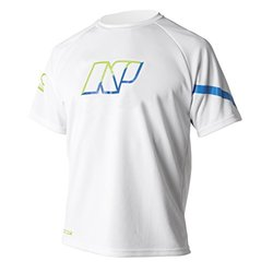 NP Surf Loose Fit Short Sleeve Water T-Shirt - White - Size: XS