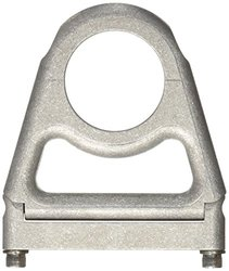 "Borgeson 912173 Open Style Steering Column Drop, 1-3/4"" Column x 3"" Drop, Paintable Aluminum"