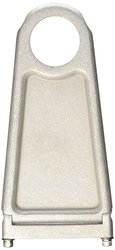 "Borgeson 1-3/4""x7"" Steering Column Drop - Paintable Aluminum (914177)"