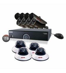 Revo 8 Channel DVR Surveillance System (R165B4ED4E-1T)
