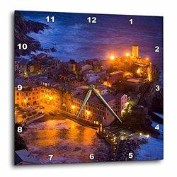 dpp_82074_1 Italy, VerNAzza, Cinque Terre, Evening EU16 BJA0773 Jaynes Gallery Wall Clock, 10 by 10-Inch
