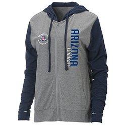 Ouray NCAA Auburn Tigers Women's Full Zip Hood - P Heather/Navy - Size: M