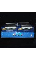 Kurt Adler 50-Light Multi End-to-End Concave LED Light Set, 5mm