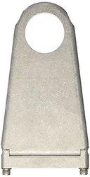 "Borgeson 1-3/4""x6"" Steering Column Drop - Paintable Aluminum (910176)"