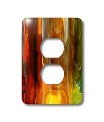 lsp_17723_6 Fire Splash, 2 Plug Outlet Cover