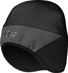 Outdoor Research Kids' Alpine Hat, Black/Charcoal, X-Small/Small
