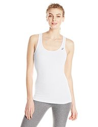 ASICS Women's Performance Run Rib Racerback - Real White - Size: Large