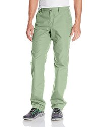 Mountain Khakis Men's Poplin Pant Slim Fit - Mint - Size: 40W/34-Inch