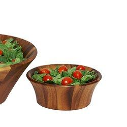 Woodard & Charles 6-1/2-Inch Acacia Wood Individual Salad Bowl (WTT205N)