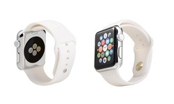Faly Silicone 38mm Replacement Sport Apple Watch Band - White