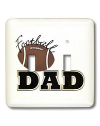 lsp_23434_2 Football Dad Football Double Toggle Switch