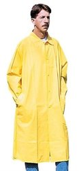 Stansport PVC Raincoat Cloth Back, Yellow, XX-Large
