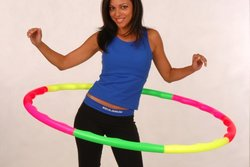 Sports Hoop Wavy Hoop 2B Exercise Hula Hoop - Size: Large