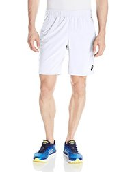 ASICS Men's Club Woven Shorts - Real White - Size: Large