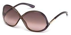 Tom Ford Sunglasses - Shiny Bordeaux / Gradient (FT0372-69Z-64)