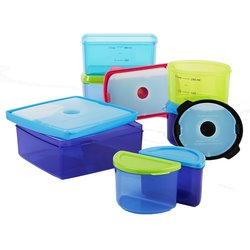 Fit & Fresh 17-Piece Kids Lunch Container Set with Removable Ice Packs