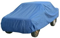 Leader Accessories Craft-fit Pick up Truck Cover (Crew Cab Short Bed 5.5'--19.5', 3 layer blue)