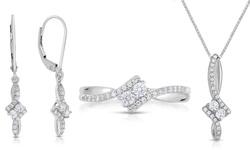Beauty Gem 1/4 Cttw Diamond Ring - White Gold - Size: 6