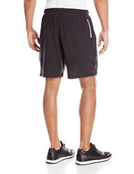 tasc Performance Men's Propulsion Running Training 2-in-1 Short with Compression Short, Large, Black