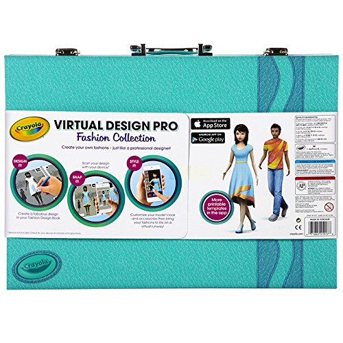 Crayola Virtual Design Pro Fashion Collection 04 1921 Check Back Soon Blinq