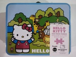 Hello Kitty Circus 100 Piece Puzzle in Lunch Box Tin by Pressman Toy