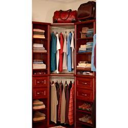ClosetMaid Impressions 23 In. Nickel Corner Rounder Closet Rod (30710) ...