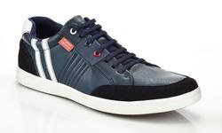 Franco Vanucci Men's Jess Fashion Sneakers - Navy - Size: 10
