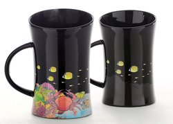 Cocera Formosa Treasure Color Changing Porcelain Cup - Glossy Black 892502