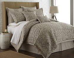 8 Piece Embroidered Comforter Sets: Danika/king