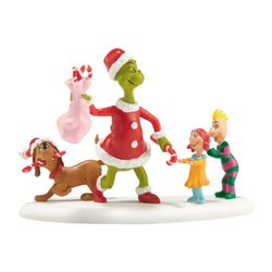 """Department 56 Grinch Villages """"Who's Been a Good Who"""" Accessory - Size: 3"""""""