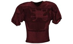 Adams USA FB Youth Jersey with Elastic Sleeve - Maroon - Size: XL
