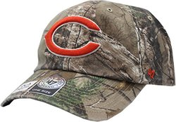 NFL Chicago Bears '47 Brand Big Buck Clean Up Adjustable Hat (Realtree Camouflage, One Size)