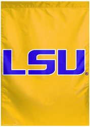 NCAA Louisiana State Fightin Tigers Two Sided Vertical Banner, 28 x 40-Inch